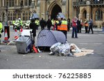 london   april 29   street... | Shutterstock . vector #76225885