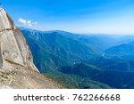 view from the moro rock  ...