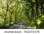 landscape image of a road with... | Shutterstock . vector #762272170