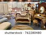 antique furniture store with... | Shutterstock . vector #762280480