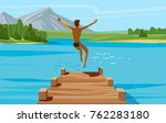vacation  weekend  relax... | Shutterstock .eps vector #762283180