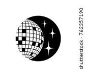 disco ball vector icon | Shutterstock .eps vector #762357190