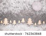 christmas greeting card. noel...   Shutterstock . vector #762363868