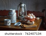 still life in a rustic style. a ...