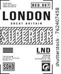 Cool London City Typography...