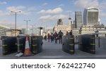 london  uk   november 22nd ...   Shutterstock . vector #762422740