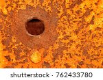 close up of an old  vintage ... | Shutterstock . vector #762433780