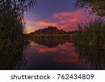 Colorful Arizona Sunset Over...