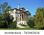 villa foscari  named la... | Shutterstock . vector #762462616