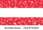 austria winter snowflake flag | Shutterstock . vector #762474304