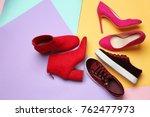 Various Female Stylish Shoes O...