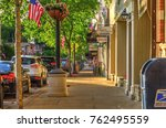chagrin falls  ohio   usa   may ... | Shutterstock . vector #762495559