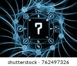 numeric connection series.... | Shutterstock . vector #762497326