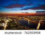 seoul night view | Shutterstock . vector #762503908