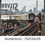 new york  ny   november 25 ... | Shutterstock . vector #762516124