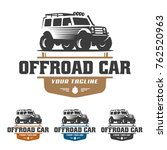 template of off road car logo ...   Shutterstock .eps vector #762520963