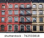old manhattan apartment... | Shutterstock . vector #762533818