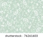 Stock vector abstract blue flowers background 76261603