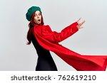 Small photo of woman, coat, fashion