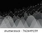 financial growth  revenue graph ... | Shutterstock .eps vector #762649159