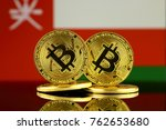 physical version of bitcoin and ... | Shutterstock . vector #762653680