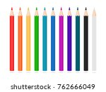 Set Of Pencils. Colorful...