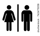 Simple Basic Sign Icon Male An...