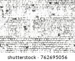 distressed overlay texture of... | Shutterstock .eps vector #762695056