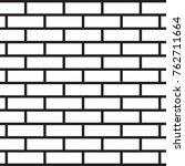 brick wall vector. | Shutterstock .eps vector #762711664