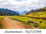 Mountain Range Road Summer...