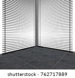 modern bright interiors. 3d... | Shutterstock . vector #762717889