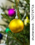 christmas holiday decorative... | Shutterstock . vector #762719716