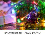 christmas and new year... | Shutterstock . vector #762719740