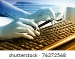 accounting. | Shutterstock . vector #76272568