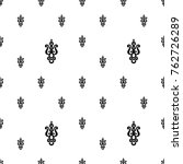 seamless pattern with  paisley... | Shutterstock .eps vector #762726289