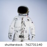 Astronaut With White Background