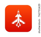 Military Fighter Jet Icon...