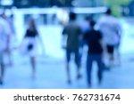 bokeh blur background  | Shutterstock . vector #762731674