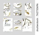 elegant identity kit. abstract...   Shutterstock .eps vector #762733696