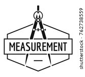 compas logo. simple... | Shutterstock .eps vector #762738559