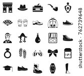 vogue icons set. simple set of... | Shutterstock .eps vector #762739648