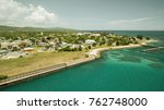 falmouth in jamaica | Shutterstock . vector #762748000