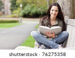 a shot of an ethnic college... | Shutterstock . vector #76275358