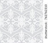 seamless pattern with lace. ... | Shutterstock .eps vector #762762310