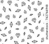 seamless scandinavian pattern.... | Shutterstock .eps vector #762766948