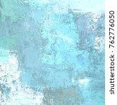 oil painting on canvas handmade.... | Shutterstock . vector #762776050