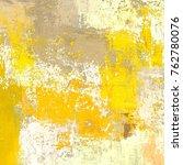 oil painting on canvas handmade.... | Shutterstock . vector #762780076
