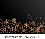 black christmas wallpaper... | Shutterstock . vector #762795100