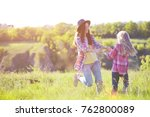 sister girls having fun in the... | Shutterstock . vector #762800089