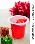delicious strawberry jelly and... | Shutterstock . vector #762821260